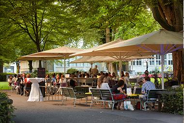 Gartenanlage Hotel Continental Park
