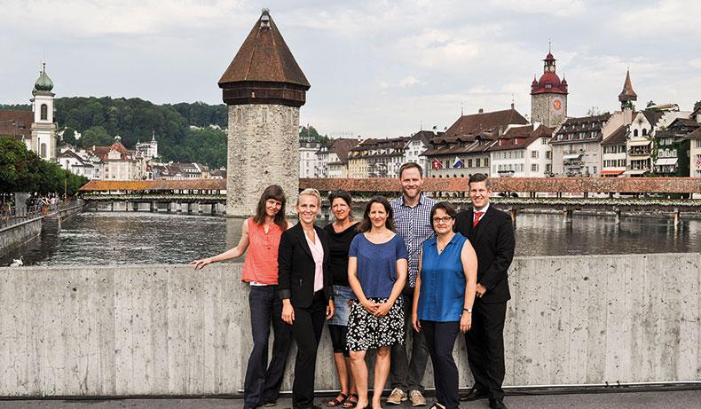 Mitarbeitende Ausbildungszentrum La Capriola in Luzern