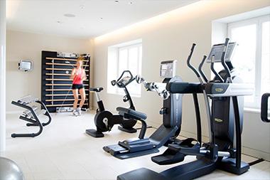 Fitnessraum und Gym Hotel Schweizerhof