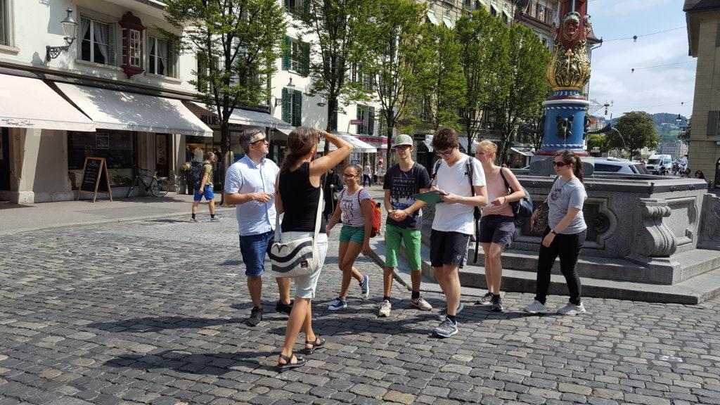 Impressionen einer Stadtführung