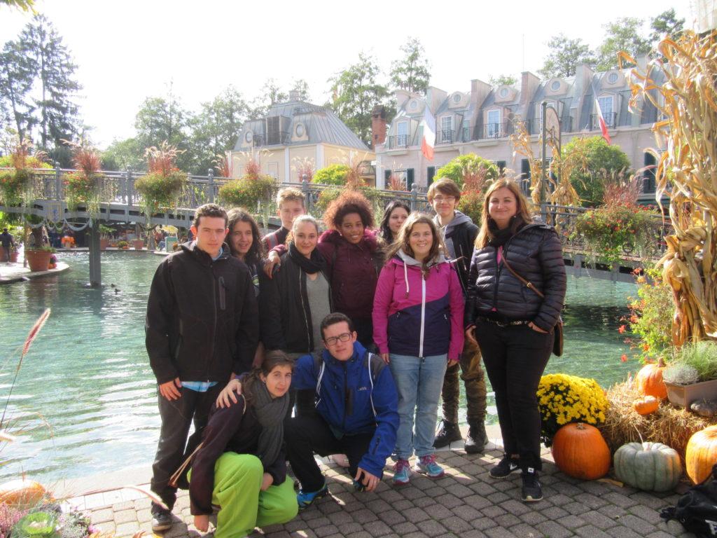 Saisonabschluss mit Jugendlichen der La Capriola Stiftung im Europapark
