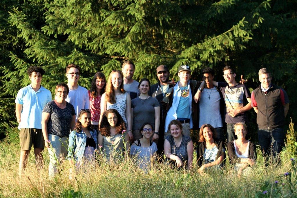 Gruppenbild Jugendliche der La Capriola Stiftung