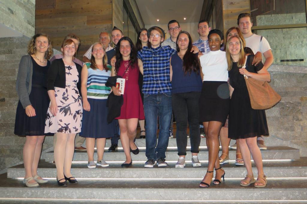 Diplomfeier der Absolventen im Ausbildungszentrum Davos