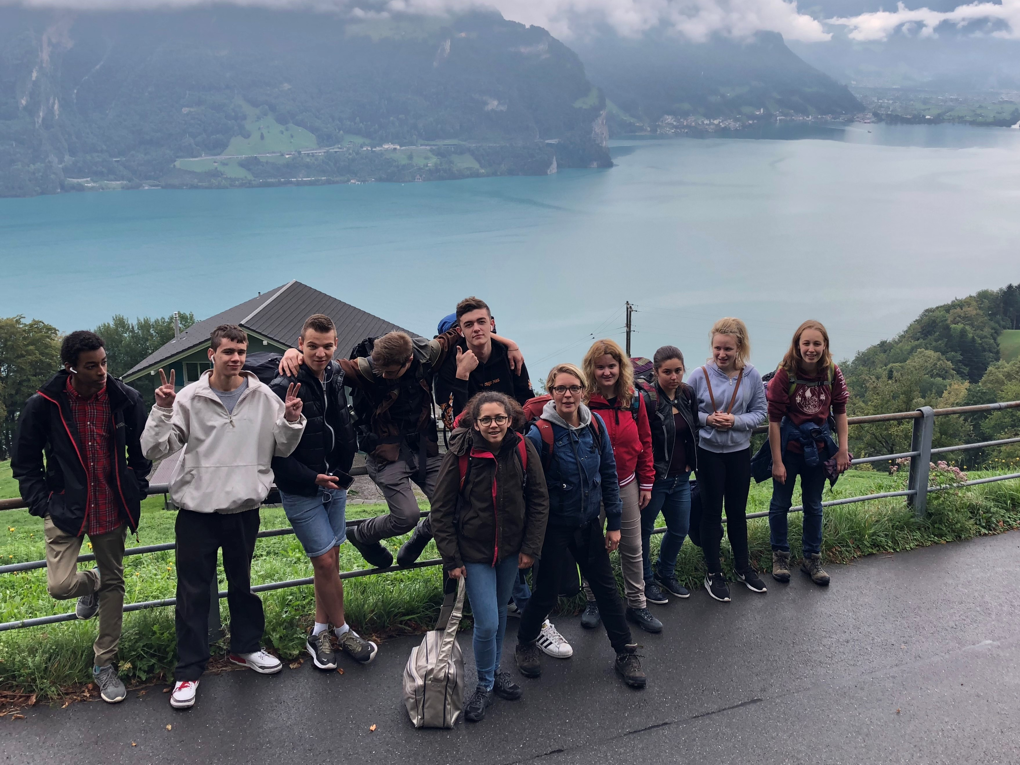 Einstiegstage Ausbildungszentrum Luzern Mit Einem Ausflug An Den Walensee