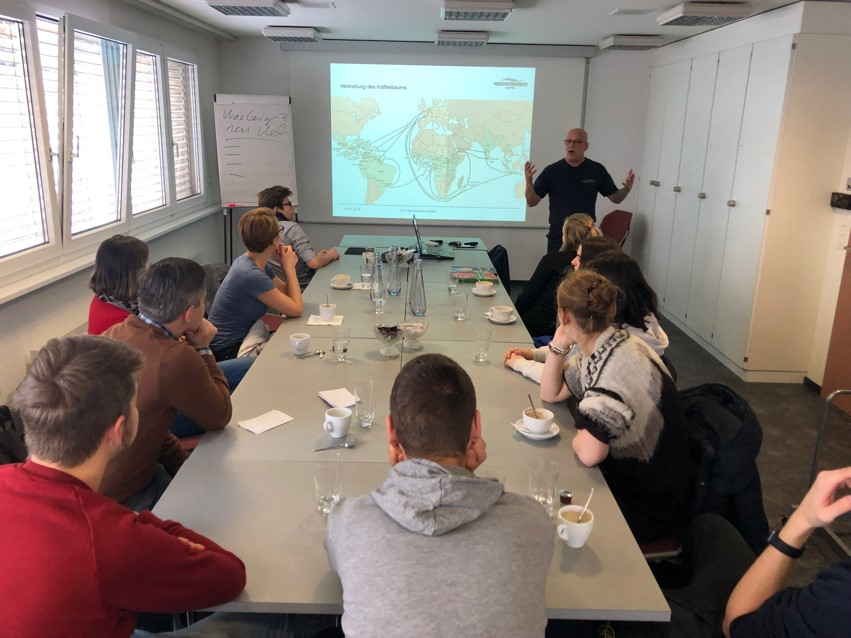 La Capriola Workshop zum Thema Kaffee
