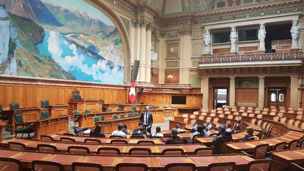 Parlamentssaal in Bern