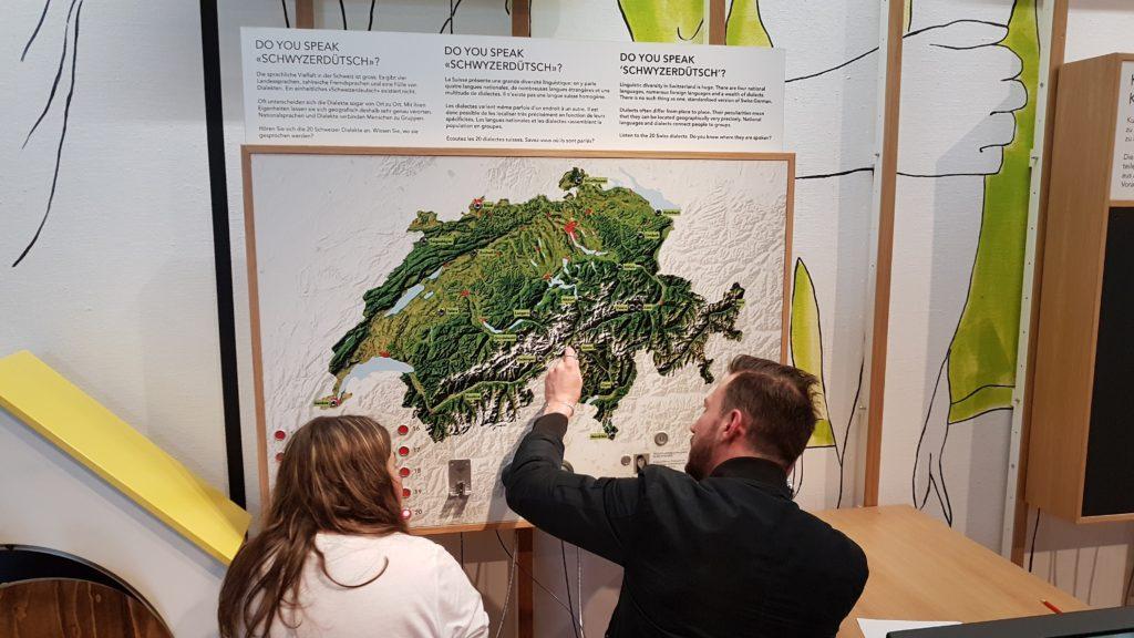 Frühlingsblockwoche zu den Schweizer Dialekten