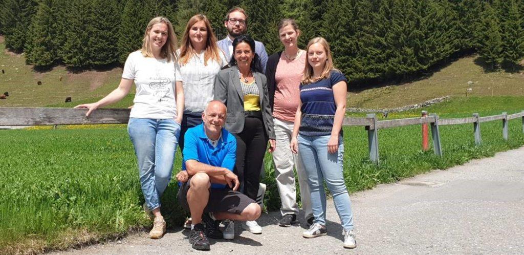 Teamfoto Ausbildungszentrum Davos