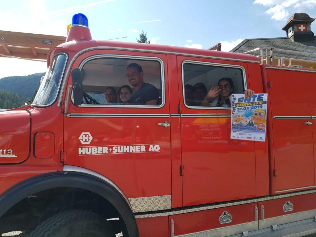Ente Fertig Los Feuerwehrauto
