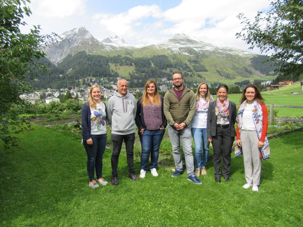 Teamfoto La Capriola Davos