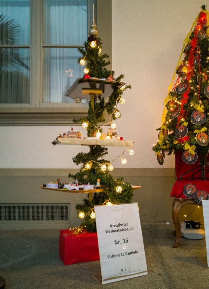Kreative Weihnachtsbäume Im Hotel Schweizerhof