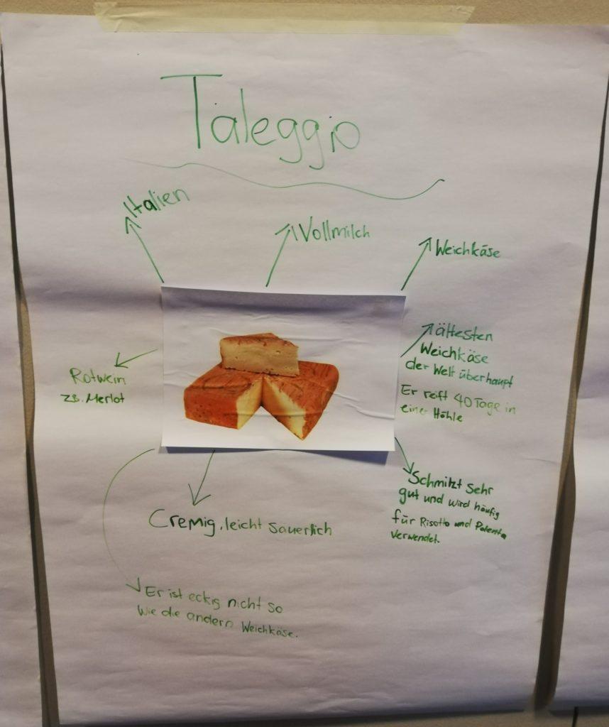 Ausbildung Blockwoche Schulung Käse