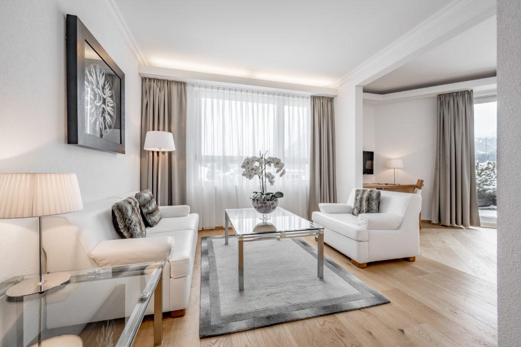 Turmhotel Victoria Davos Suite
