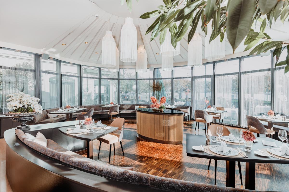 Restaurant Pavillon Im Hotel Schweizerhof Luzern