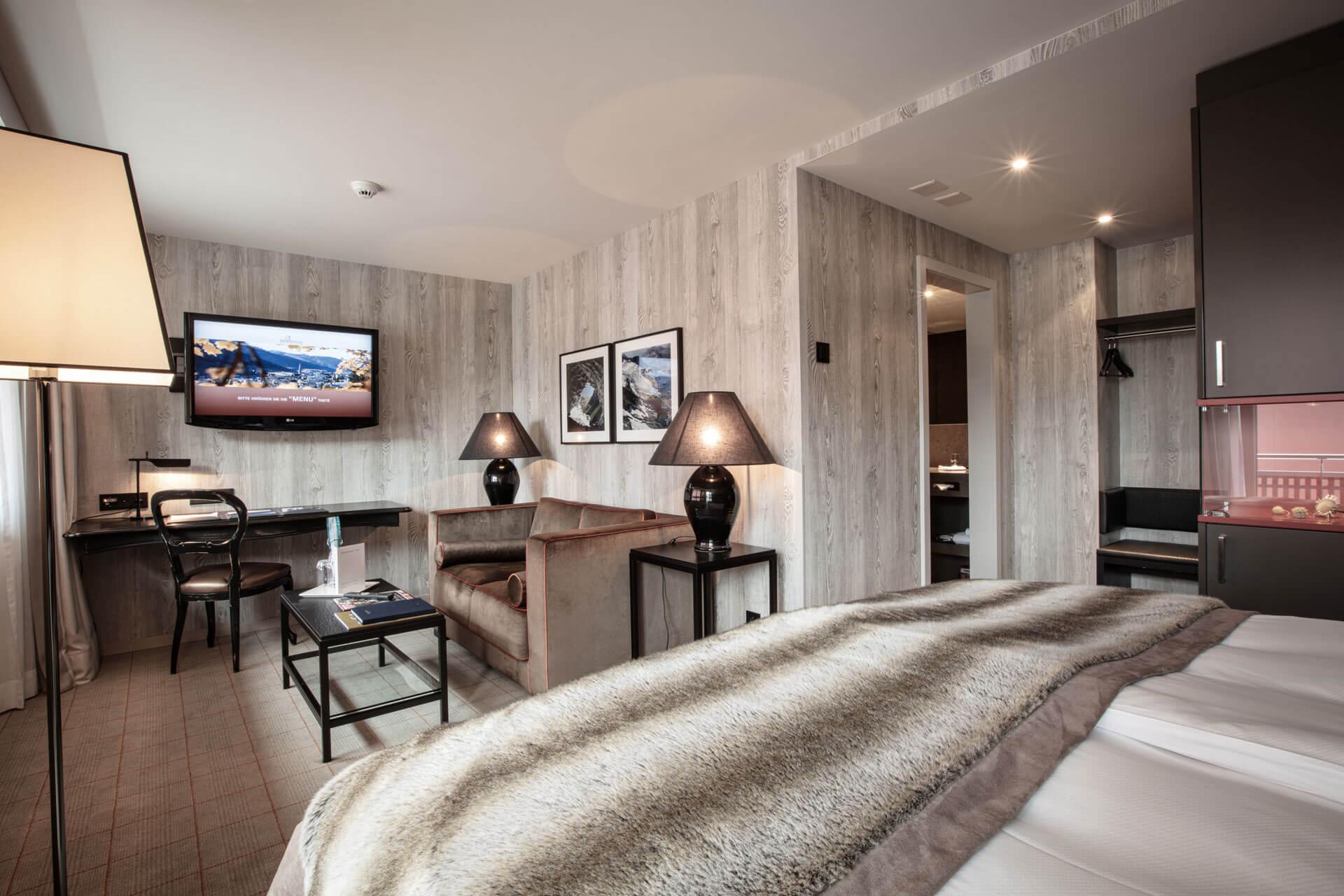 Doppelzimmer Grischa Hotel